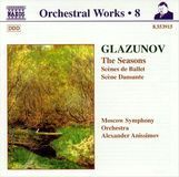 Alexander Glazunov: Orchestral Works, Vol. 8 [CD]