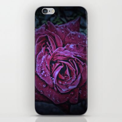 Purple Rose II iPhone & iPod Skin by AngelEowyn - $15.00