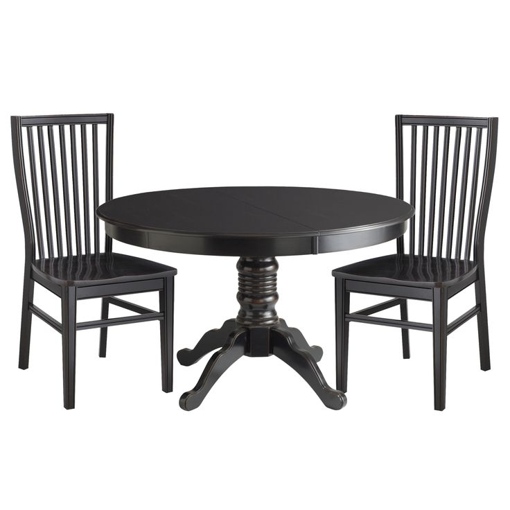 Ronan Extension Table Dining Set Rubbed Black Hardwood  : ddd69b7009ab466c27346b8dfd2aab26 from www.pinterest.com size 736 x 736 jpeg 42kB