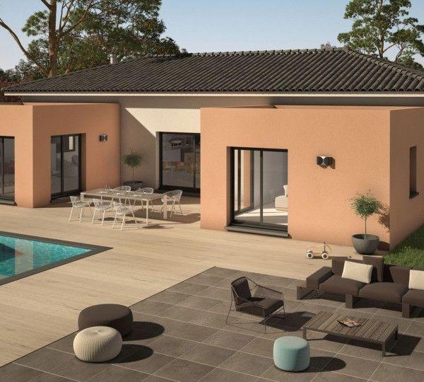 Modèle de maison Patio 140 Design -  Retrouvez tous les types de - construire sa maison budget
