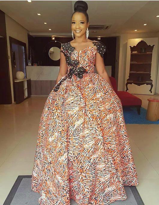 e55f59f773d 2018 Ankara Short Gown Styles