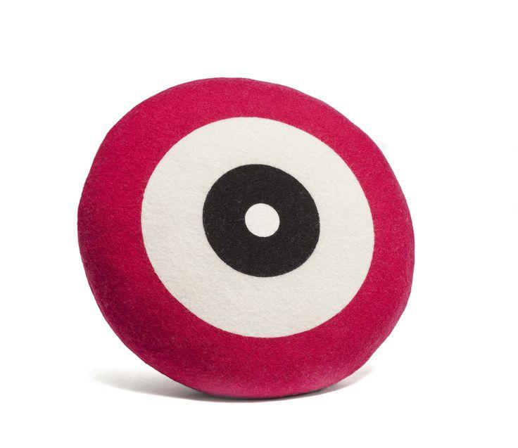 Wendt Design pude - Dot i pink farve - Tinga Tango Designbutik