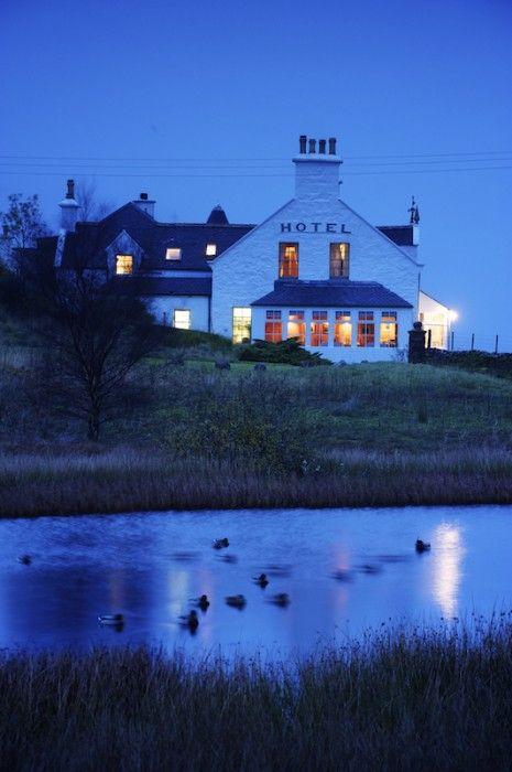 Eilean Iarmain Hotel on the Isle of Skye