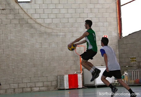Parrón korfball shoot