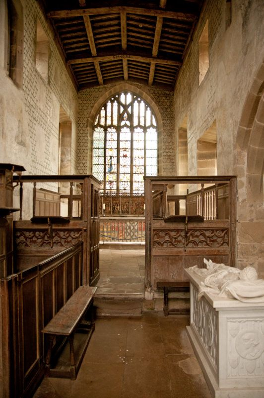 The Chapel At Haddon Hall