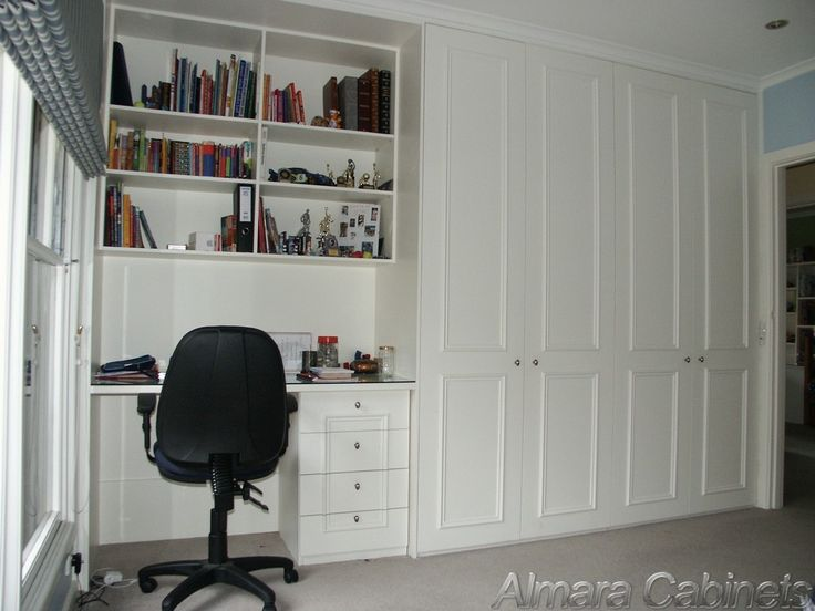 wardrobe with desk - Google Search