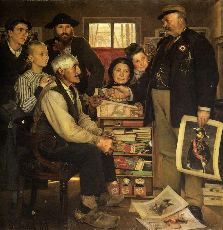 Jean-Eugène Buland - Propagande (1889)