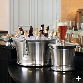 Optima Beverage Tub and Ice Bucket...ideal for parties or everyday use. Insulated to keep cold and no condensation!!