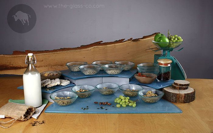 A different approach of the cereal section! #Breakfast #Buffet #MyGlassStudio
