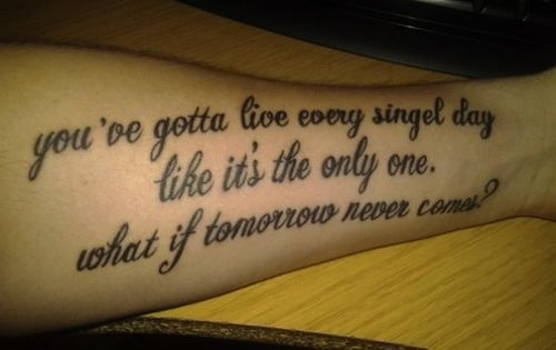 misspelled tattoos 5 Theres no going back... misspelled tattoos (20 ...