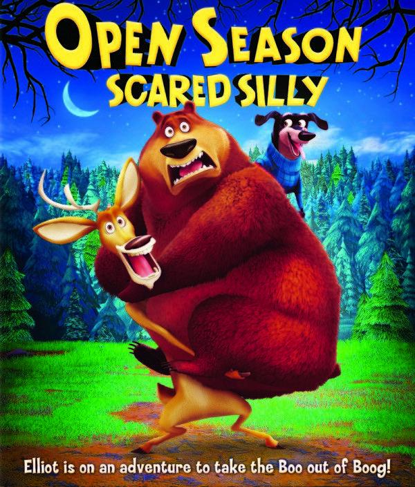 Fun with Elliot & Boog! Open Season: Scared Silly Games & Printables! #OpenSeason4
