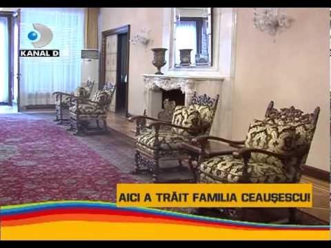 Asta-i Romania - Imagini in EXCLUSIVITATE din casa familiei Ceausescu!