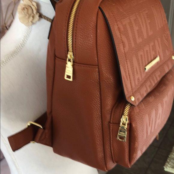 Steve Madden Bags | Steven Madden Btampa Logo Backpack Purse