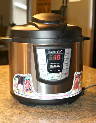 I've learned to cook some of our family's favorite dishes in a fraction of the time, infusing flavor while retaining moisture and nutrients! I'm so excited! Enter to win an Instant Pot Electric Pressure Cooker for your own kitchen and check out my delicious Potato Bacon Chowder Recipe!