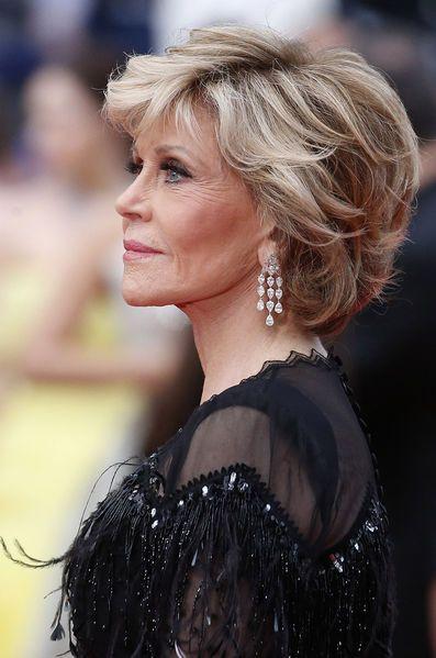 Cannes 2018 Hair Info In 2019 Hair Styles Jane Fonda