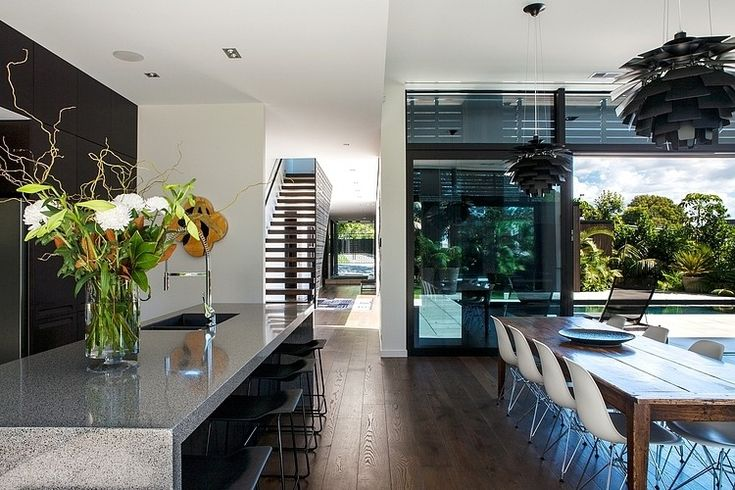 Dorrington Architects & Associates designed this beautiful home