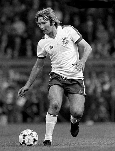Circa 1978. Sadly overlooked by England manager Don Revie, Tony Currie returned to the fold under Ron Greenwood.