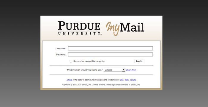 Purdue Email