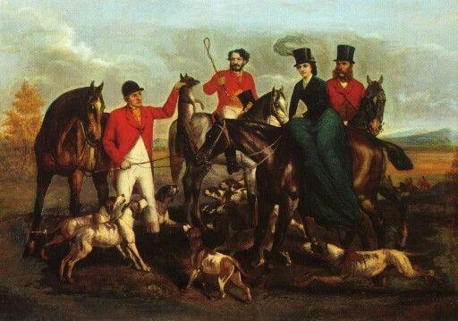 Empress Elisabeth, emperor Franz Joseph and Gyula Andrassy