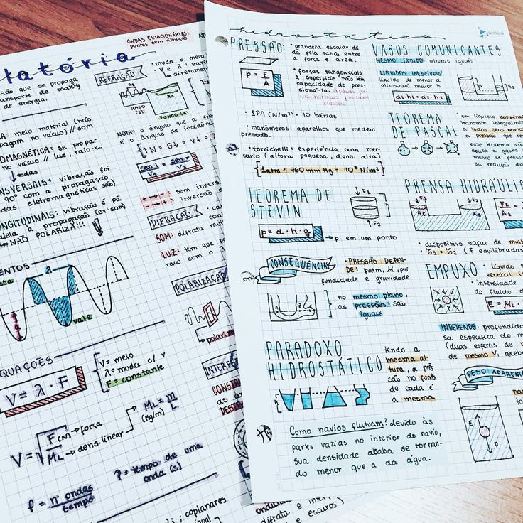 {23092016} this week's physics notes ✨ (I actually like this subject a lot more than I should) || #study #studying #studyblr #studygram #studyinspo #studyspo #studynotes #studymotivation ||