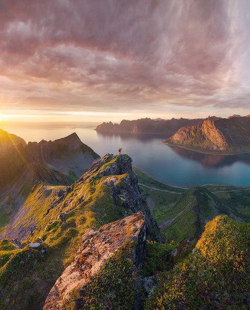 Midnight sun, Norway