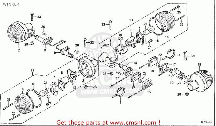 Honda Cb125t England Winker Buy Winker Spares Online Stuff To Buy Honda Cards