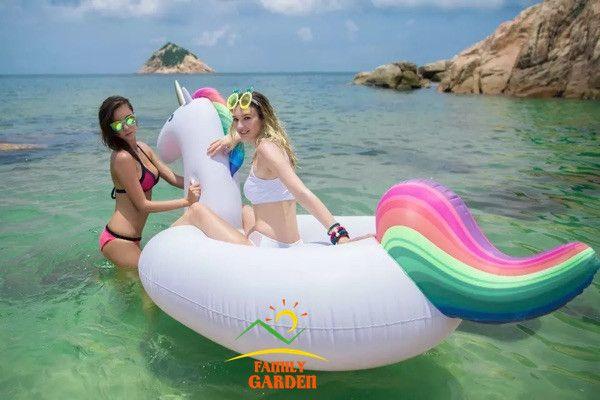 Piscine jouets 2.75 * 1.4 * 1.2 M gonflable licorne piscine flotteurs de natation gonflables anneaux Air radeaux dans Air matelas de Sports et divertissement sur AliExpress.com | Alibaba Group