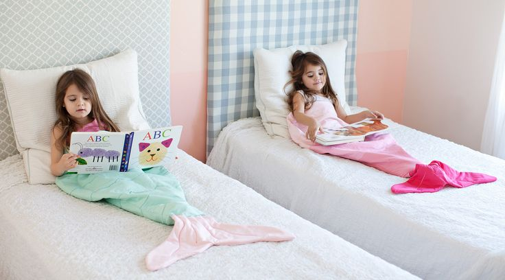 mermaid tail blankets!!! cutest ever #product_design #DIY
