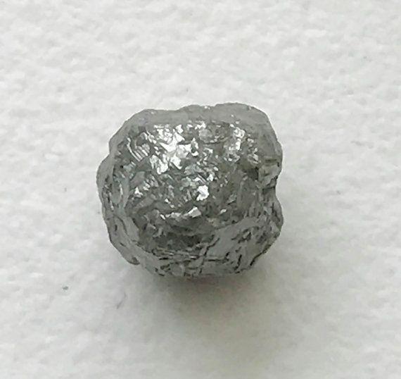 2.70 Cts Grey Rough Diamond Grey Raw Diamond by gemsforjewels