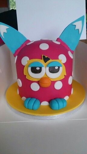 Furby cake too cute!!