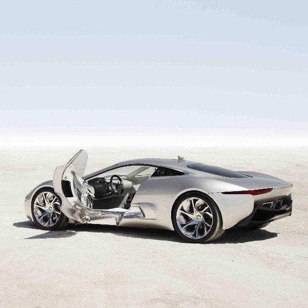 *Jaw Drop* The Jaguar C-X75 Concept