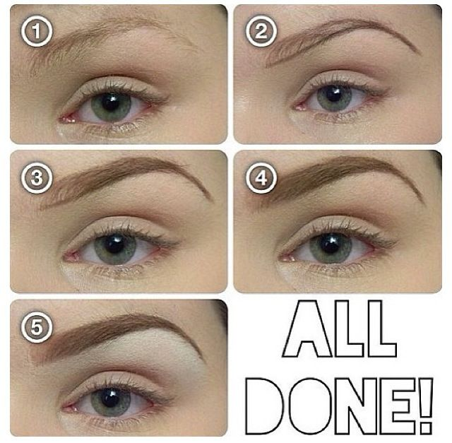 Brows! How to frame and fill.