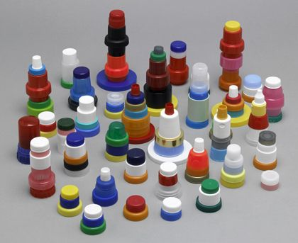 bottle cap sculpture
