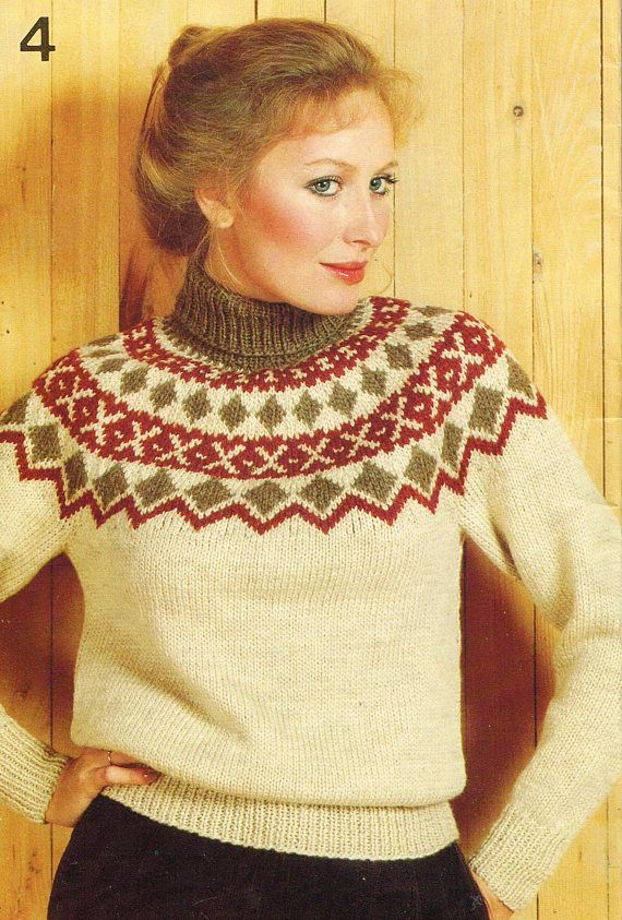 378 best 1980's knitting and crochet images on Pinterest | Knits ...