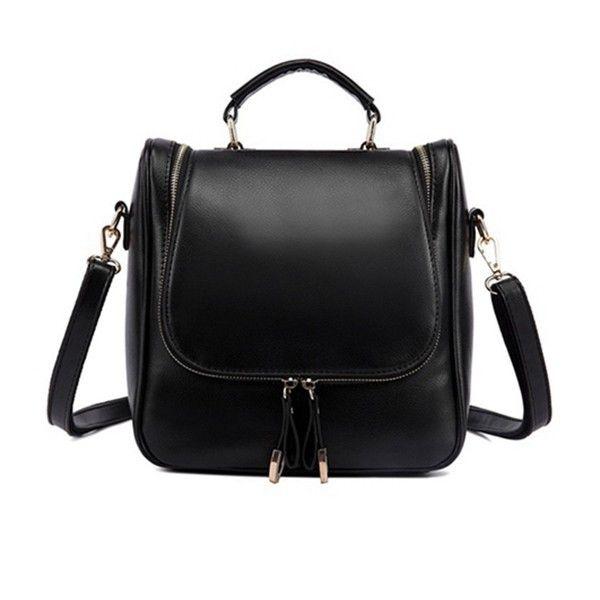 Women Casual Multifunctional Diagonal Messenger Backpack Shoulder Bag Tote