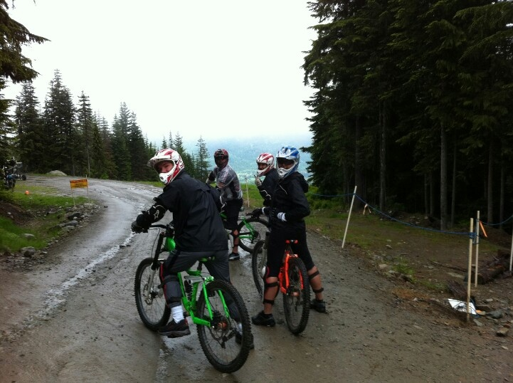 Downhill mountain biking - Whistler, BC