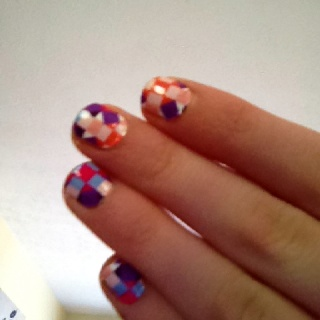 Mad about you Sally Hansen nails!: Nails Design