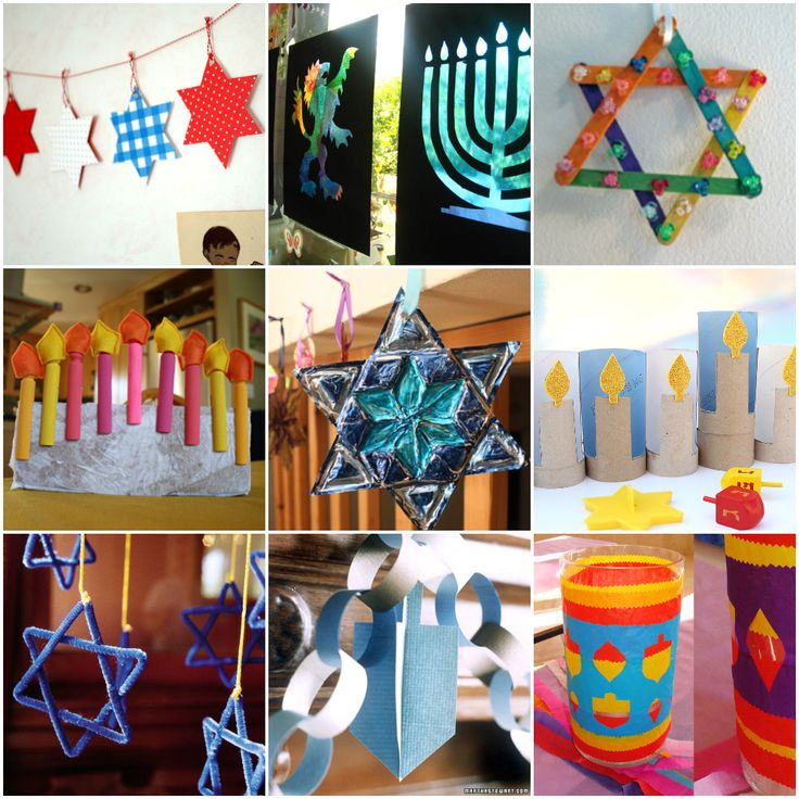 25 HANUKKAH CRAFTS TO MAKE WITH KIDS...Something for every age!  Teach, Learn, Build Confidence but most of all Have Fun!