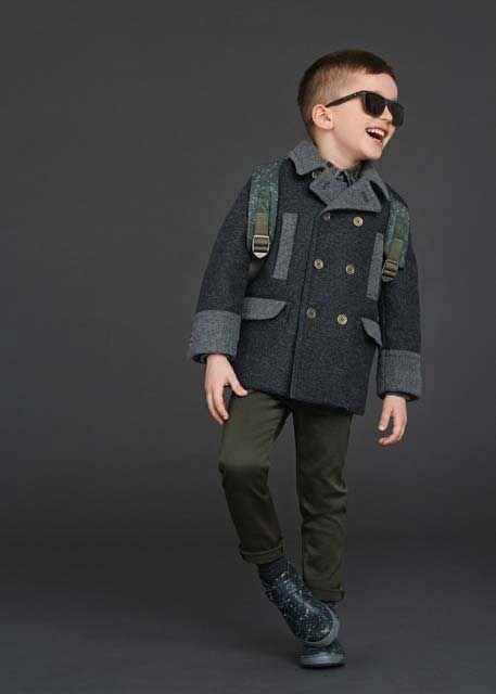 Erkek Giyim, Erkek Modası: Dolce Gabbana 2016 Kış Erkek Çocuk Koleksiyonu