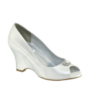 Custom Wedding Shoes - Base Style (can be dyed or left as is)