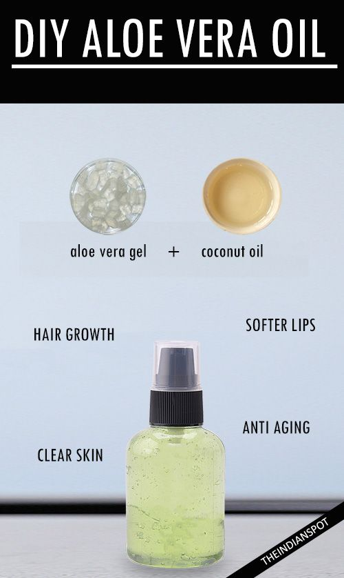 DIY ALOE VERA OIL FOR GORGEOUS SKIN AND HAIR
