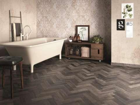 Rustic Wood Effect Tiles - The Dolphin Collection