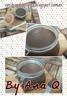 Cocinando en Ibiza: Nutella casera (Monsieur Cuisine)