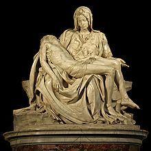 Michelangelo's Pieta 5450 cut out black - Maria (Mutter Jesu) – Wikipedia