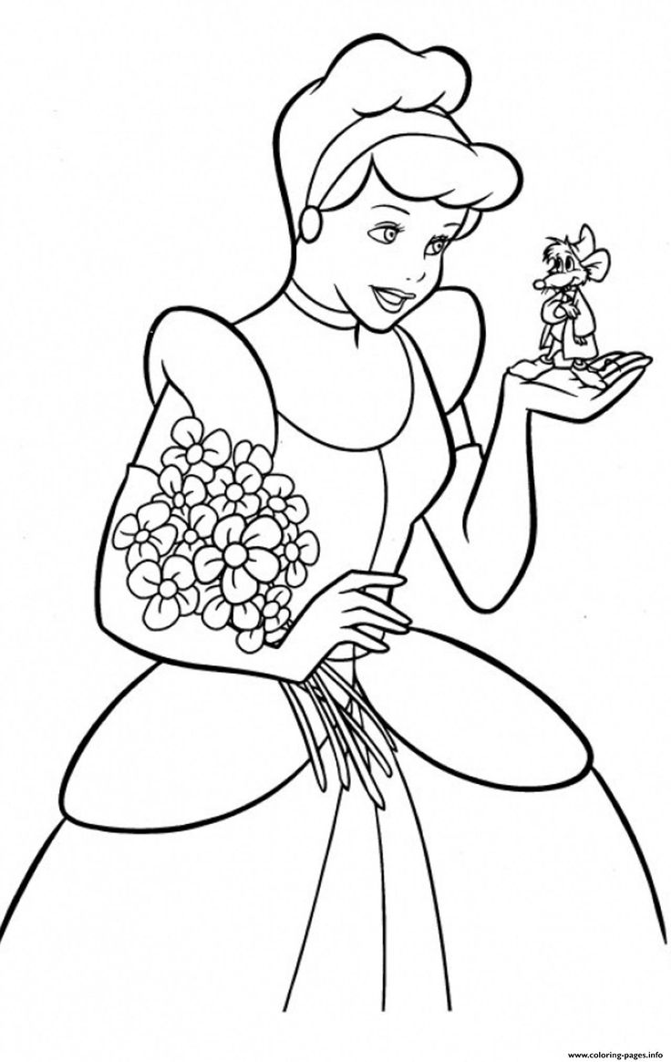 Print princess free cinderella s for kids9102 coloring ...   printable coloring pages for toddlers