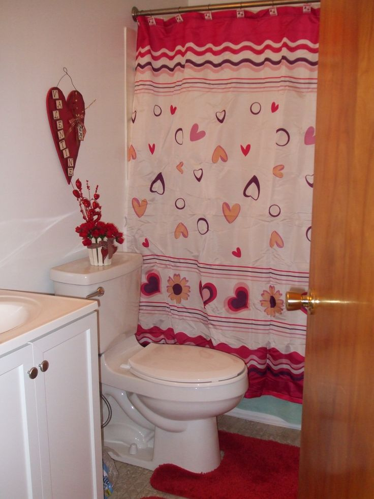 Valentine's Day Bathroom