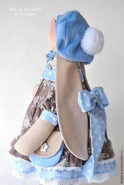 Купить Зайка Эвелин - зайка, игрушка зайка, игрушка зайчик, игрушка заяц, зайка девочка
