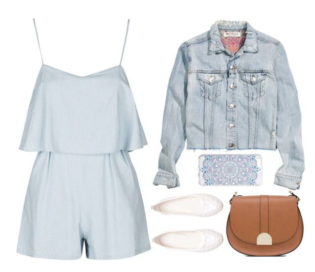 """Untitled #8"" by wennynagane on Polyvore featuring Topshop and Zara"
