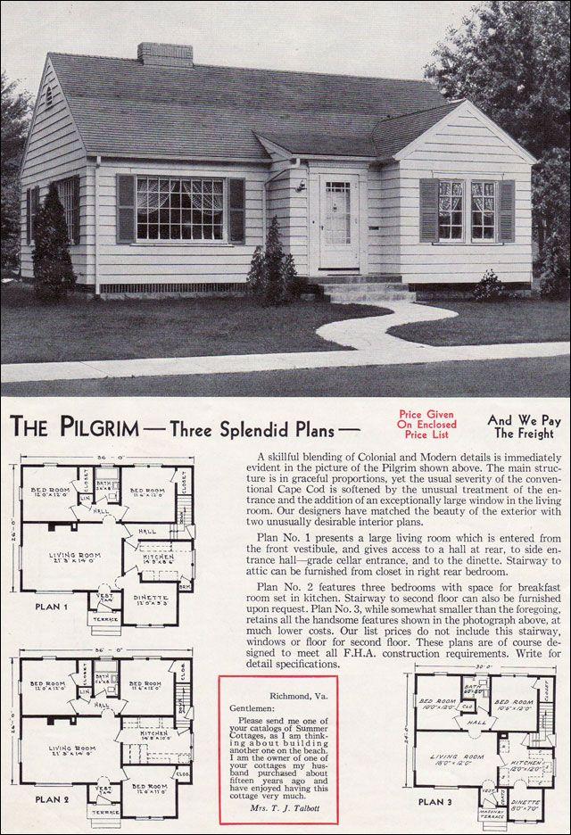 42 Best Aladdin Kit Homes Images On Pinterest Vintage