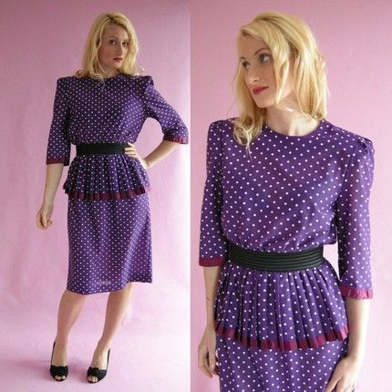 Eighties style dresses